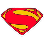 Superman Giant Wearable Stickers 4ct
