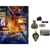 SpiderMan Spider Hero Dream Party Photo Backdrop and Props