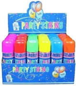 Blue Box Party String - not Silly String - 3 Cans