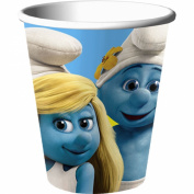 Smurfs 2 270ml Party Cups 8 Pack