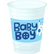 Cute As a Button- Boy Cups