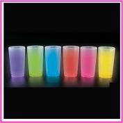 ASSORTED CRAZY GLOW CUPS (12OZ) (1 DOZEN) - BULK