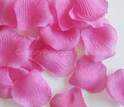 500 Fuchsia Silk Rose Petals Wedding Party Favours