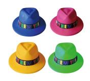 12 Happy New Year Fedora Hats