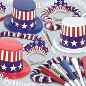 Spirit Of America Asst for 50 Party Accessory