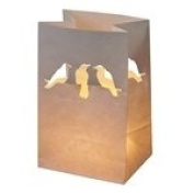 TALKING TABLES Crows Paper Candle Lanterns