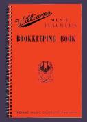 Music Treasures Co. Williams Music Teacher's Bookkeeping Book