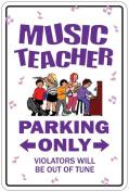 Music Parking Sign - Music Teacher