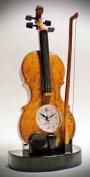 Music Treasures Co. Musical Violin Alarm Clock