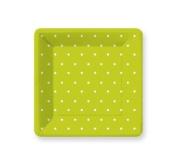 Design Swiss Dot Lime Green Dinner Plates - 8 count