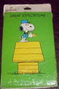 Hallmark Peanuts Snoopy Baby Shower Invitations - Great Expectations