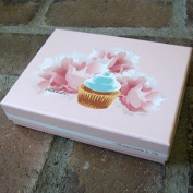 Dolce Boxed Thank You Note Cards - Cupcake | Rungtong & Co. Stationery Line