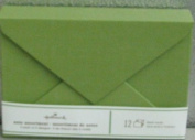Hallmark Stationery SOM3181 Lime Green Box Note Card Assortment