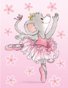Suzy's Note Card Collection Stationery, Tilly Ballerina - 10856