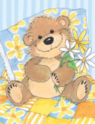 Suzy's Note Card Collection Stationery, Willy Bear's Daisy - 10857
