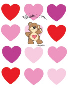 Suzy's Valentines Card Collection Stationery, Boof Wishing You... Valentine's Card - 10863