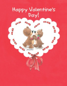 Suzy's Valentines Card Collection Stationery, Rowf and Lovey Happy Valentine's Day - 10860