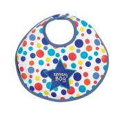 Elegant Baby Dot Birthday Boy Baby Bib