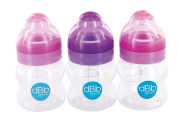 Rémond Dbb LO Feeding Bottles Silicone with Suction Teat for Age 0 Months and Above Set of 3