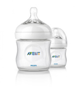 Philips AVENT SCF690/27 125 ml Natural Newborn Feeding Bottle