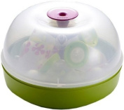 Beaba Microwave and Cold Water Steriliser Green
