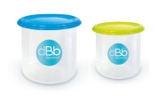 dBb-Remond 209649 Freezer Containers 190 ml and 300 ml Set of 2