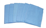 Muslinz Premium Muslin Squares 100% Cotton Supersoft High Quality x 15cm BLUE