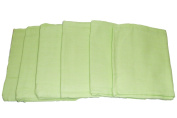 Muslinz Premium Muslin Squares 100% Cotton Supersoft High Quality x 15cm GREEN