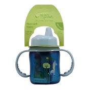 Green Sprouts, Non-Spill Sippy Cup, Stage 2-4, 3-24 Months, 6 oz (177 ml) Blue Cup