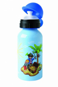 Dinico 3524075 - Playmobil aluminium drinking bottle 400ml