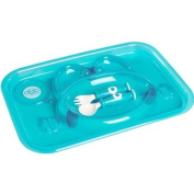 dBb Remond 217549 Dinner Plate with Fork and Spoon Translucent Turquoise