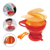 Brother Max Easy Hold Home and Travel Weaning Bowl Set with Suction Base