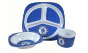 Chelsea FC Melamine Feeding Set for Babies - Official Product