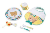 TRUDI Plush Baby Bear - Set Pappa good appetite - 18 cm.