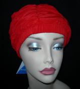 Fashy Red Shower Cap Ladies