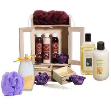 15 Pieces Beauty Gift Set Vanilla Chocolate
