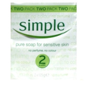 Simple Pure Soap Twin Pack 2