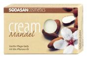 Sodasan Organic Cream Soap - Almond 100g - PRAs19002