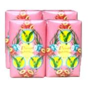Parrot Botanicals Soap Floral Scent (80 G X 4) Thailand Product
