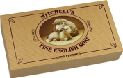 Mitchell's Wool Fat Oval Soap 3x150g Gift Box