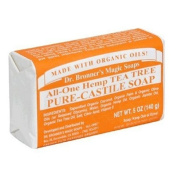 Dr. Bronner's Magic Soaps Pure-Castile Soap , All-One Hemp Tea Tree , 150ml Bars