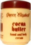 Queen Elisabeth Cocoa Butter Hand & Body Creme 16oz/500ml-Code:QUE001