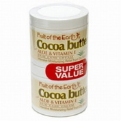 Fruit Of The Earth Cocoa Butter 118 ml + 118 ml Jars