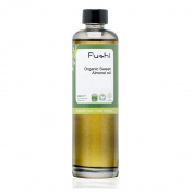 Fushi Sweet Golden Almond Organic Oil 100ml Extra Virgin, Biodynamic Harvested Cold Pressed