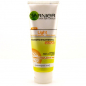 Smileshop Garnier Skin Naturals Light Brightening Scrub Wash Lemon Anti-dullness 100ml
