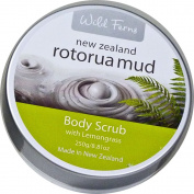 Wild Ferns Rotorua Mud Body Scrub 250g x 1