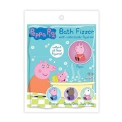 Peppa Pig Peppa and George Bath Fizzers with Collectables 75g