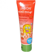 Jason Natural Products Cosmetics Kids Only Strawberry Toothpaste 120ml