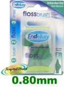 Endekay Interdental Flossbrush Green