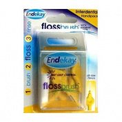 Endekay Flossbrush Yellow 0.70mm 6 Brushes